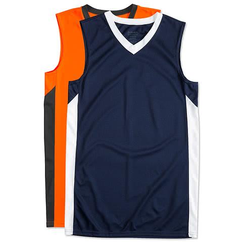 Augusta Colorblock Basketball Jersey