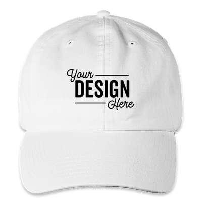 Champion Washed Twill Hat - White
