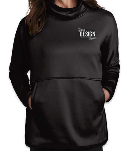 The North Face Women's Canyon Flats Stretch Poncho - TNF Black Heather