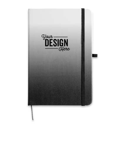 Medium Ombre Hard Cover Notebook - Black