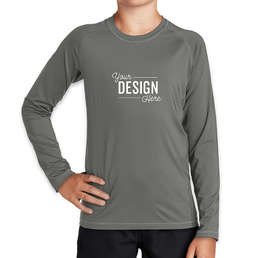Sport-Tek Youth Long Sleeve Rash Guard Shirt