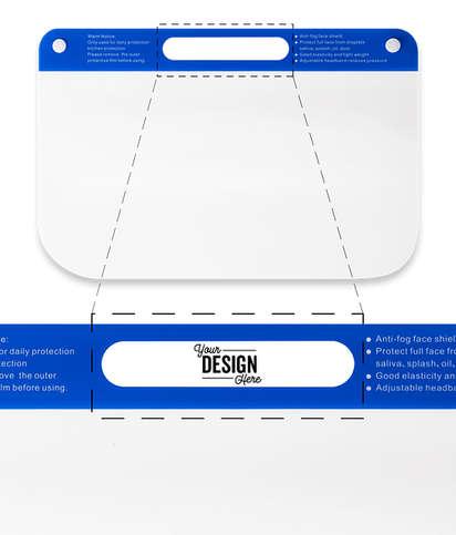 Customized Face Shield - Clear