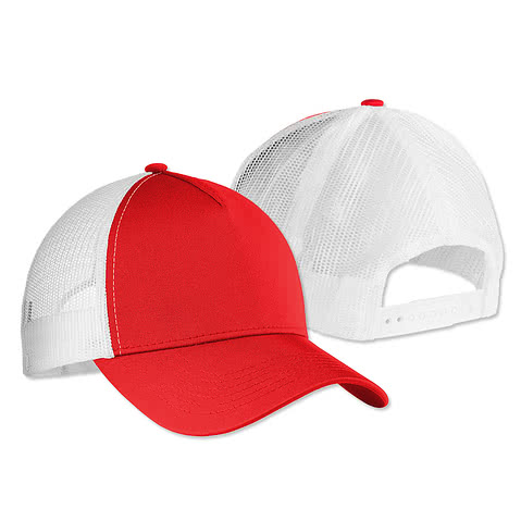 Sport-Tek PosiCharge® Competitor Mesh Back Cap