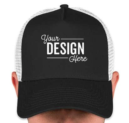 Canada - New Era 9FORTY Snapback Trucker Hat - Black / White