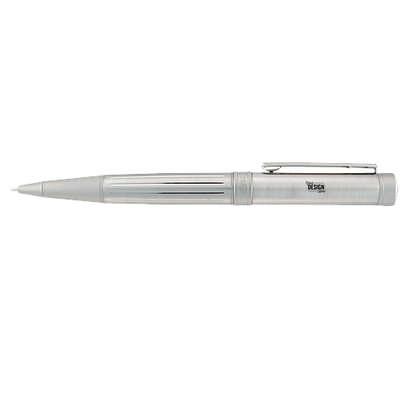 Laser Engraved Cutter & Buck Midlands Pen Set (black ink) - Silver