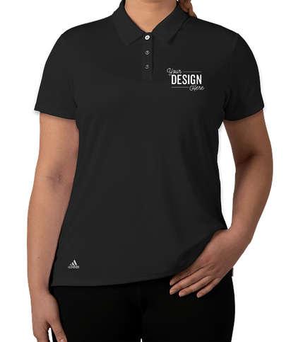 Adidas Women's Performance Polo - Black
