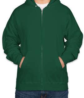 Hanes EcoSmart 50/50 Zip Hoodie