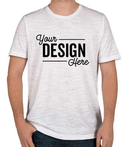Bella + Canvas Slub T-shirt - White Slub