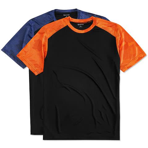 Sport-Tek CamoHex Colorblock Performance Shirt