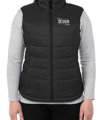 Stormtech Women's Stavanger Thermal Vest - Black / Graphite