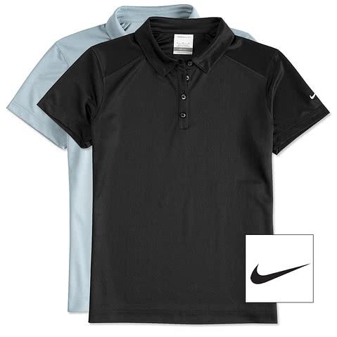 Nike Golf Women's Pebble Textured Performance Polo