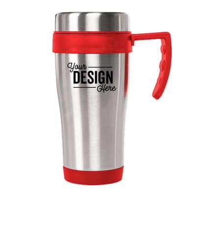 15 oz. Seaside Travel Mug - Red