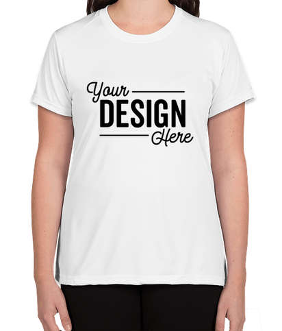 A4 Women's Promotional Performance Shirt - White