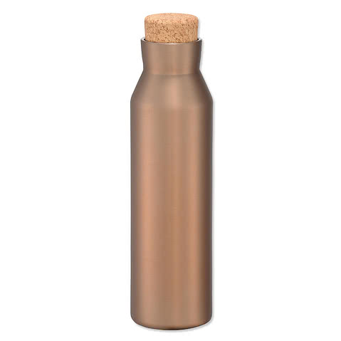 20 oz. Copper Vacuum Insulated Water Bottle with Screw-on Lid