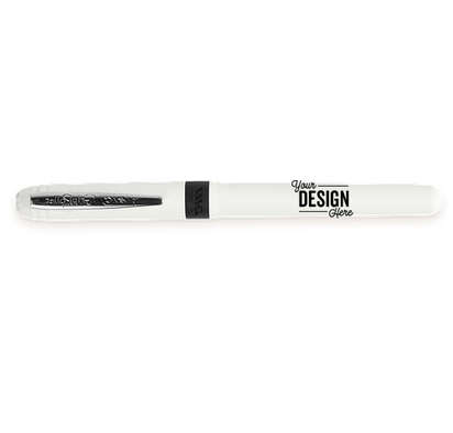 BIC Grip Roller Pen (blue ink) - White