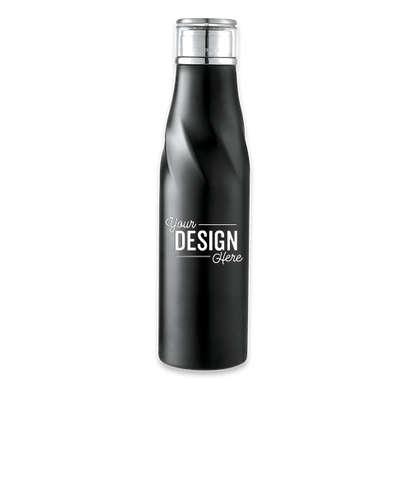 22 oz. Hugo Auto-Seal Copper Vacuum Insulated Water Bottle - Black