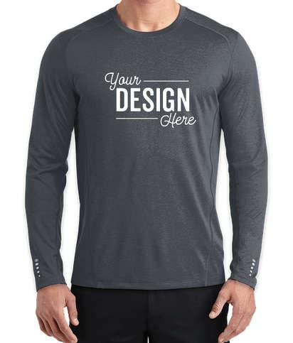 OGIO Endurance Pulse Long Sleeve Performance Shirt - Gear Grey