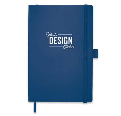 JournalBooks ® Debossed Nova Soft Cover Bound Notebook - Navy