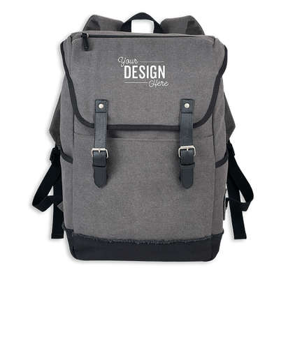 """Field & Co. Hudson 15"""" Computer Backpack - Gray"""