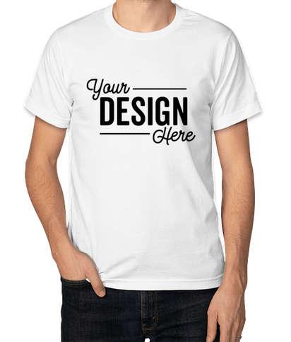 Bayside USA-Made Jersey T-shirt - White