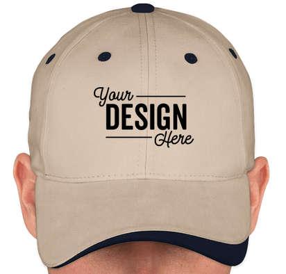 Canada - Sportsman Two-Tone Hat - Stone / Navy