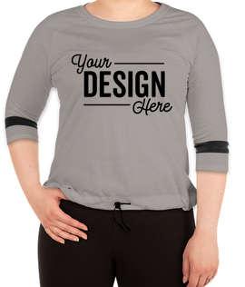 New Era Women's Tri-Blend Raglan T-shirt