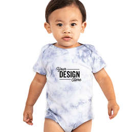 Royal Apparel Tie Dye Baby Bodysuit