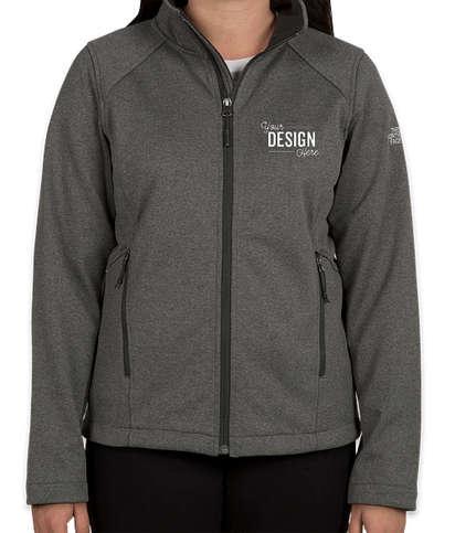 The North Face Women's Ridgewall Soft Shell Jacket - Dark Grey Heather