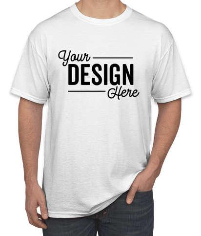 Canada - Gildan DryBlend 50/50 T-shirt - White