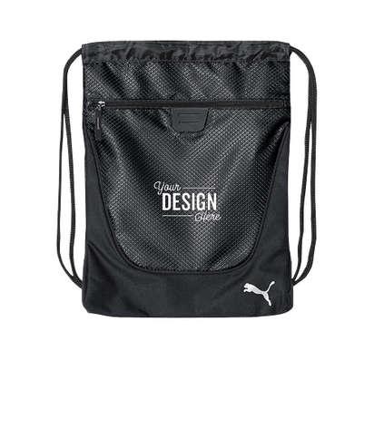 Puma Drawstring Bag - Black / Black