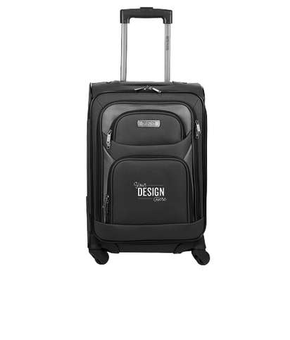 """Kenneth Cole 20"""" Expandable Carry-On Luggage - Black"""