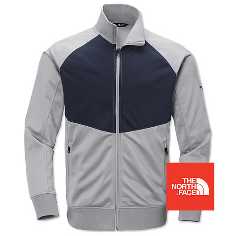The North Face Color Blocked Tech Full-Zip Fleece Jacket