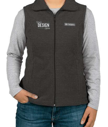Columbia Women's Benton Springs Fleece Vest - Charcoal Heather