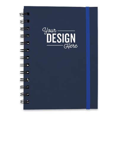 Soft Cover Spiral Notebook - Navy