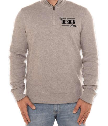 Tommy Hilfiger Quarter Zip Sweatshirt - Sport Grey Heather