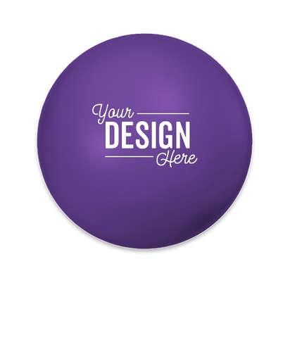 Round Stress Reliever - Purple