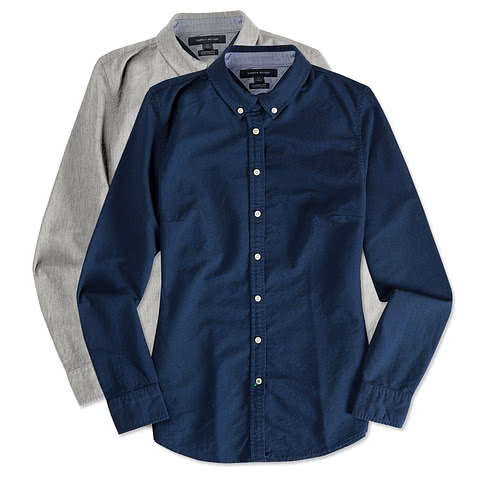 Tommy Hilfiger Women's England Solid Oxford Shirt