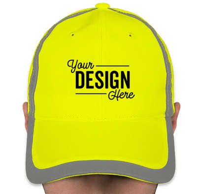 Big Accessories Reflective Safety Hat - Bright Yellow