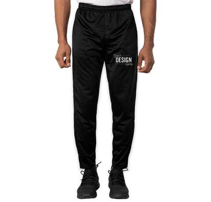 Sport-Tek Tricot Tapered Warm-Up Pant - Black