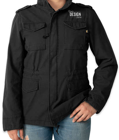 Alpha Industries Women's M-65 Defender Jacket - Black