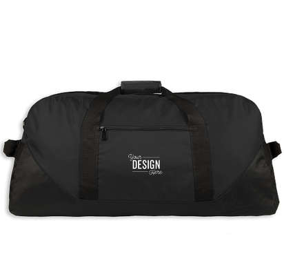 Liberty Series Large Duffel Bag - Embroidered - Black