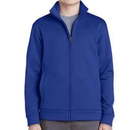 Sport-Tek Youth Sport-Wick Tech Fleece Full Zip Jacket