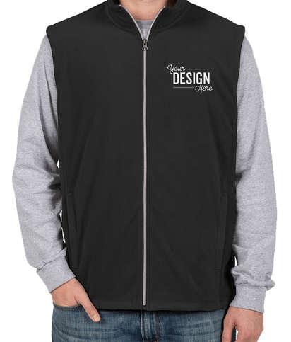 Port Authority Microfleece Vest - Black