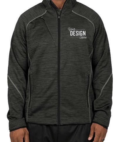 North End Tech Fleece Jacket - Carbon / Black
