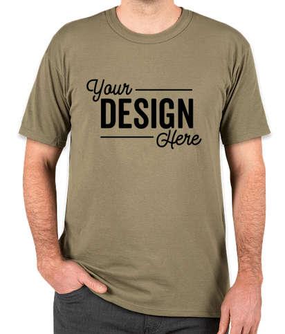 Soffe Military USA-Made 50/50 T-shirt - Tan