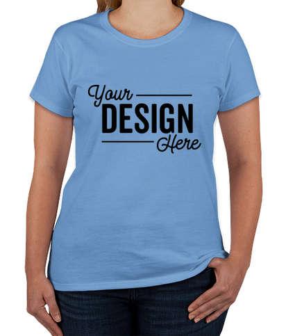 Gildan Women's 100% Cotton T-shirt - Carolina Blue