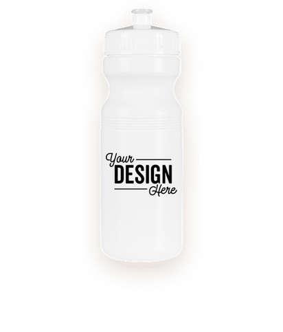 24 oz. Bike Water Bottle - White