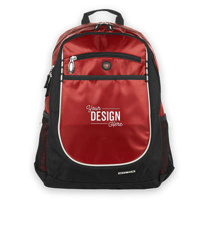 OGIO Carbon Organizer Backpack - Red