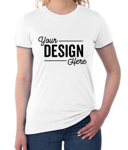 Allmade Women's Tri-Blend T-shirt - Fairly White