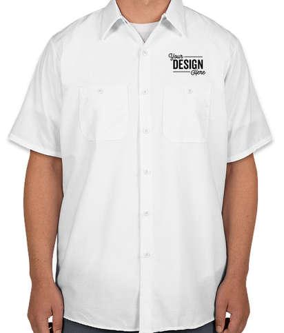 Red Kap Industrial Work Shirt - White
